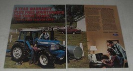1984 Ford TW-15 Tractor Ad - $14.99
