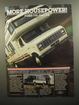 1984 Ford Trucks Ad - More Housepower - $14.99