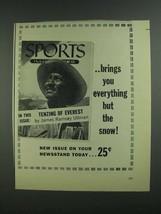 1955 Sports Illustrated Magazine Ad - $14.99