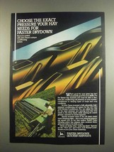 1984 John Deere 1217 and 1219 Mower/Conditioners Ad - $14.99