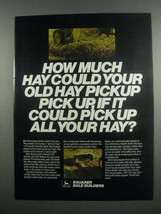 1984 John Deere 347 and 337 Balers Ad - How Much - $14.99
