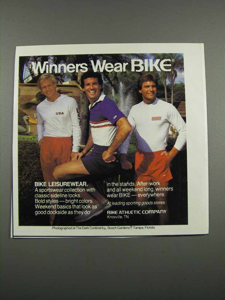Primary image for 1983 Bike Athletic Company Leisurewear Ad - Winners