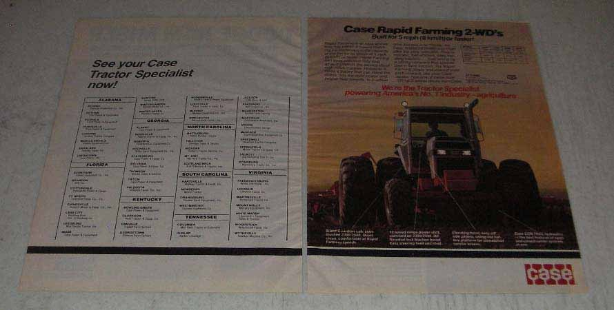 Primary image for 1983 Case 2090, 2290, 2390 and 2590 Tractors Ad