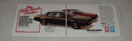 1983 Dodge Challenger and Plymouth Sapporo Ad - $14.99