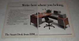 1983 IBM Displaywriter Computer Ad - Write Here - $14.99