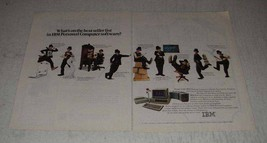 1983 IBM Personal Computer Ad - Best Seller List - $14.99