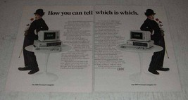 1983 IBM Personal Computer and Personal Computer XT Ad - $14.99
