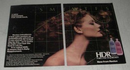 1984 Revlon HDR Hair's Daily Requirement Shampoo Ad - $14.99