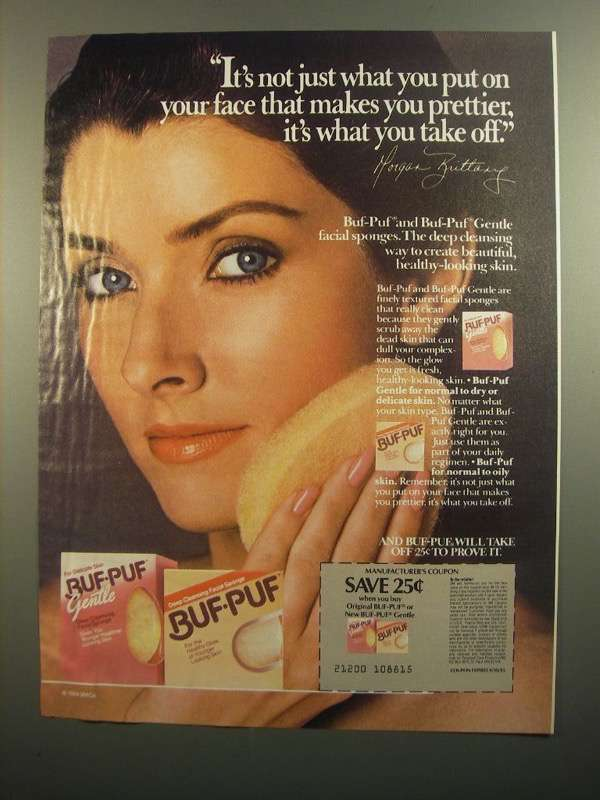 Primary image for 1984 Buff-Buf Ad - Morgan Brittany