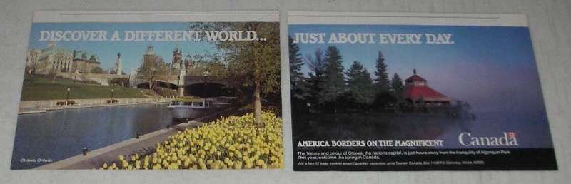 Primary image for 1984 Canada Tourism Ad - Different Just About Every Day