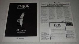 1984 FMR Franco Maria Ricci Magazine Ad - Beautiful - $14.99