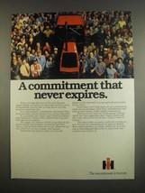 1984 International Harvester Tractors Ad - Commitment - $14.99
