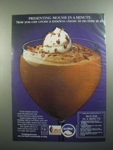 1984 Jell-O Instant Pudding and Cool Whip Ad - $14.99