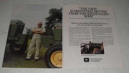 1984 John Deere 2350 and 2950 Tractors Ad - Sound-Gard - $14.99