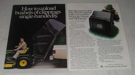 1984 John Deere Hydraulic Dump and Tilt Dump Ad - $14.99