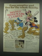 1984 McCall's Disney Candy Mold Set Ad - Creative - $14.99