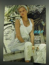 1984 MGA Guess ? Georges Marciano Women's Fashion Ad - $14.99