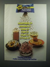 1984 Nestle Little Bits Chocolate Chips Ad - Smother It - $14.99
