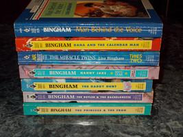 Harlequin Lisa Bingham lot of 7 contemporary romance paperback - $7.91