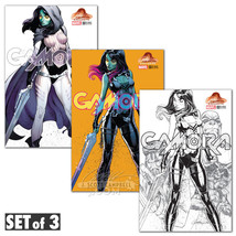 Gamora 1 Variant J Scott Campbell Set of 3 Guardians of the Galaxy - $80.00