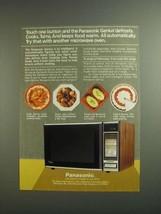 1984 Panasonic Genius Microwave Ad - Defrosts, Cooks - $14.99