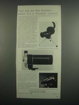 1984 Questar QM1, MFL and Industrial 700 Ad - $14.99