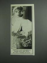 1984 Victoria's Secret Lingerie Ad - Enjoy the Romance - $14.99