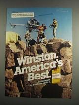 1984 Winston Lights Cigarettes Ad - America's Best - $14.99