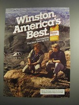 1984 Winston Lights Cigarettes Ad - America's Best - NICE - $14.99