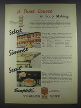 1935 Campbell's Tomato Soup Ad - A Short Course - $14.99