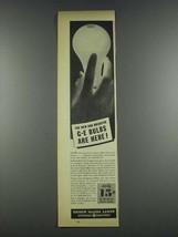 1937 General Electric Edison Mazda Lamps Ad - Brighter - $14.99