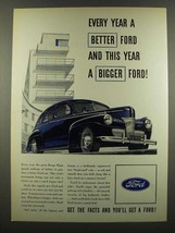 1940 Ford Motors Ad - Every Year a Better Ford - $14.99