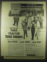 1964 Ford Tractors Ad - Join the Trade Parade - $14.99