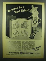 1945 General Electric Mazda Lamps Ad - Best Seller - $14.99