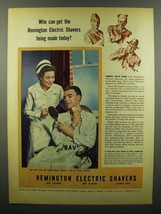 1945 Remington Electric Shavers Ad - Who Can Get? - $14.99