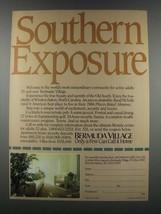 1985 Bermuda Village, Winston-Salem North Carolina Ad - $14.99