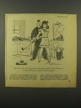 1945 Wheaties Cereal Ad - Cartoon by Jefferson Machamer - $14.99