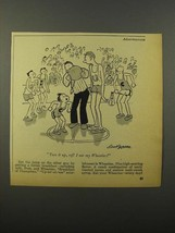 1946 Wheaties Cereal Ad - Cartoon by Dave Gerard - $14.99