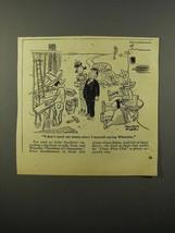 1946 Wheaties Cereal Ad - Cartoon by Reamer Keller - $14.99