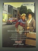1985 GMC Safari Ad - Demanding Expeditions - $14.99