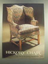 1985 Lane Hickory Chair James River Collection Ad - $14.99
