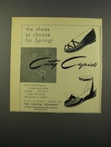 1949 Nevelk Cathy Cupids Shoes Ad - Choose For Spring - $14.99