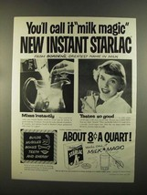 1955 Borden Starlac Ad - You Call it Milk Magic - $14.99