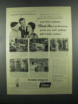 1955 Coleman Blend-Air Conditioning & Water Heater Ad - $14.99