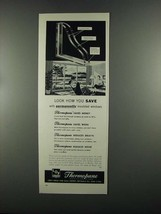 1955 Libbey Owens Ford Thermopane Insulating Glass Ad - $14.99