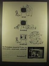 1964 Westinghouse Instant-On TV Ad - Raymond Burr - $14.99