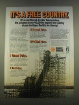 1985 Black & Decker Tools Ad - It's a Free Country - $14.99