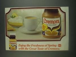 1985 Borden Cremora Ad - Enjoy the freshness of spring - $14.99