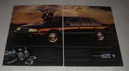 1985 Chrysler LeBaron GTS Ad -The American sedan that outperforms BMW 528e - $14.99