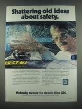 1985 GM General Motors Ad - Shattering Old Ideas - $14.99